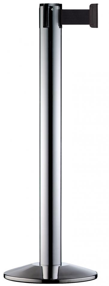Beltrac Modern - Stolpe i rostfritt stål