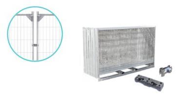 Byggstängsel Standard Förstärkt - Komplett paket (105m)