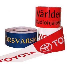 Avspärrningsband Premium med tryck (3-färgstryck)