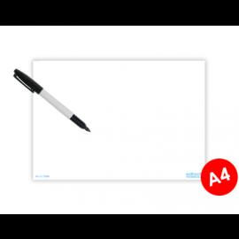 Whiteboard A4 till informationsskylt