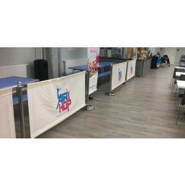 Cafe Banner -2 meter- (Komplett paket)