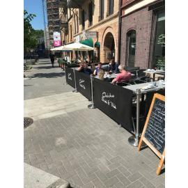Cafe Banner -24 meter- (Komplett paket)