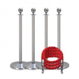 Köpaket -Silver- 4 stolpar / 3 rep