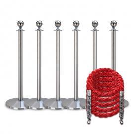 Köpaket -Silver- 6 stolpar / 5 rep