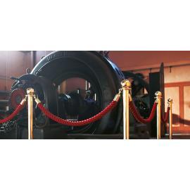 Avspärrningspaket - Museum (6-stolpar/5-rep)