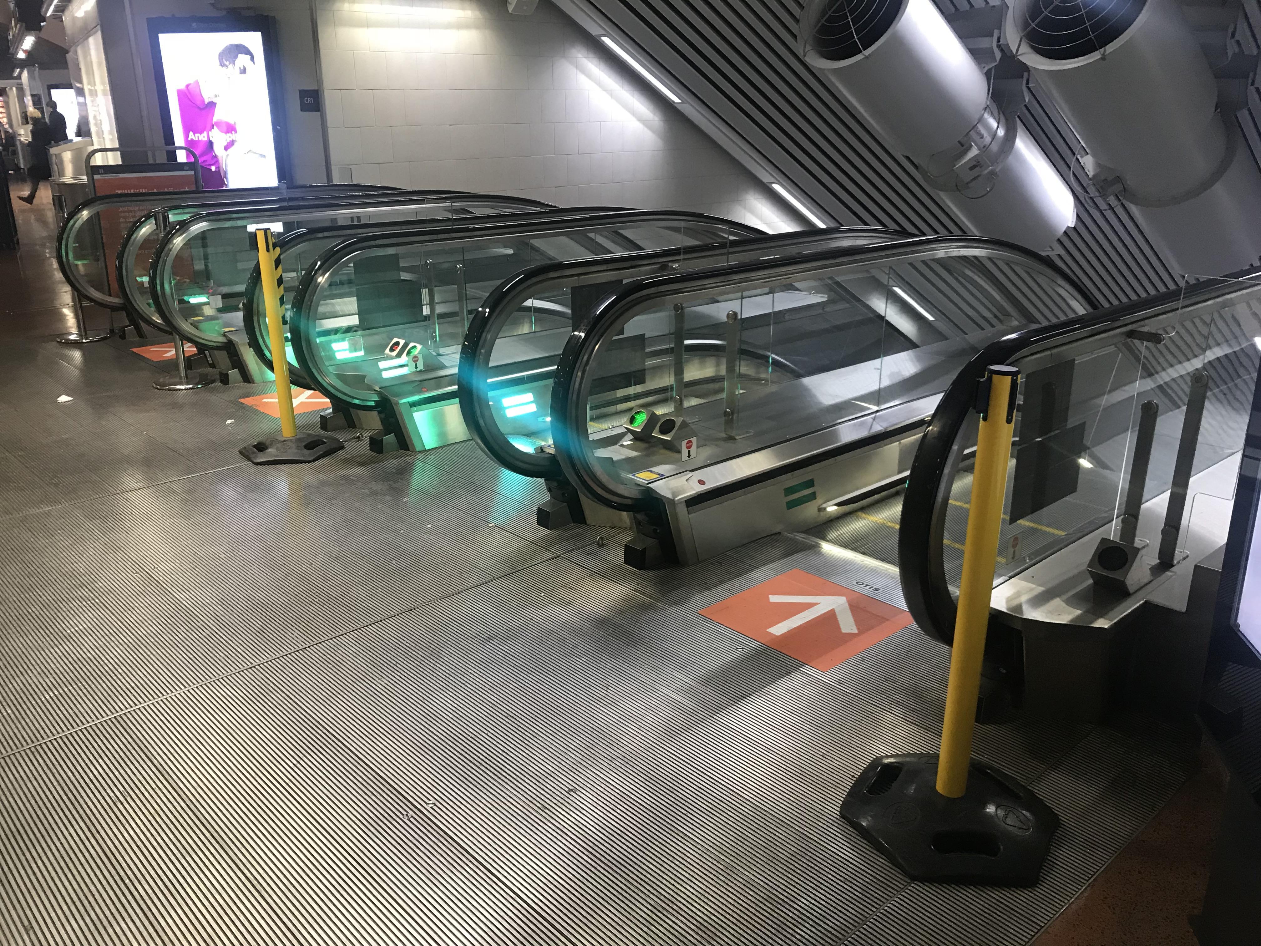 MTR Express väljer oss som leverantör av avspärrningsstolpar till Stockholm City.